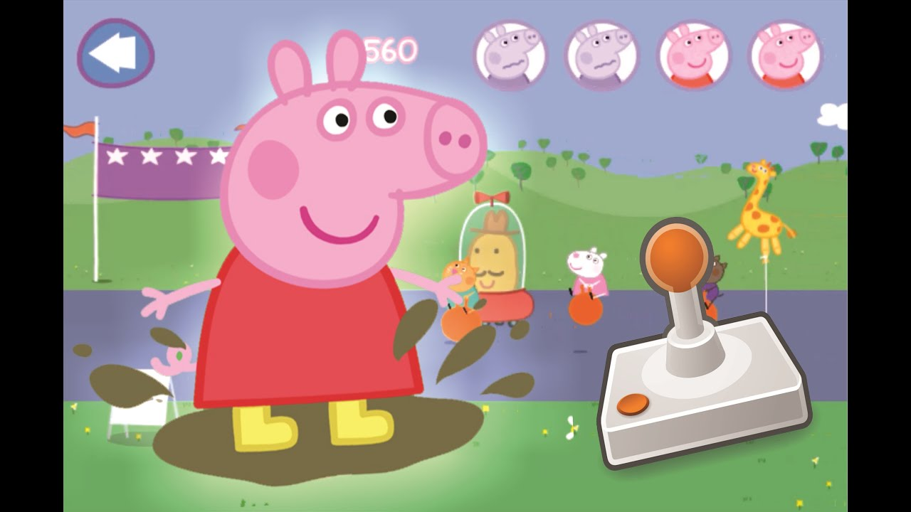 Peppa Pig Pulando Na Lama Youtube