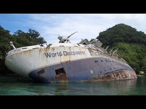 5 Haunting Abandoned Cruise Liners That Will Give You the Chills