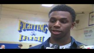 Andrew Wiggins Signing & Interview