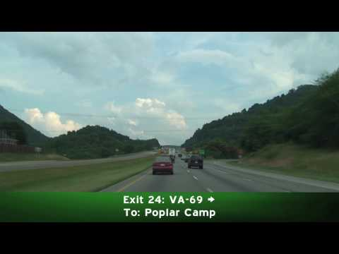 I-77 South: Virginia to North Carolina