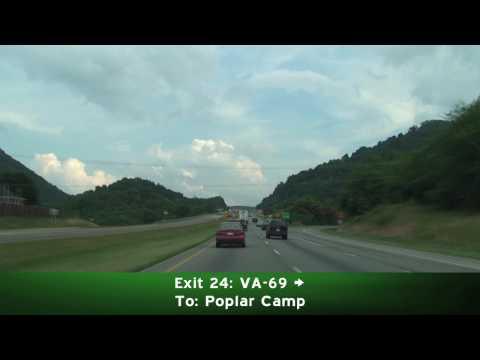 I-77 South: Virginia to North Carolina