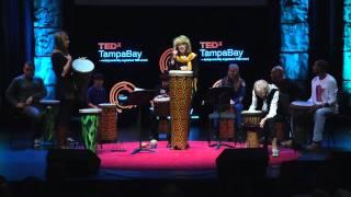 Facilitating drum circles: Katherine T. Robinson & Sally G. Robinson at TEDxTampaBay