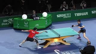 2018 ITTF Team World Cup - Fan Zhendong v Harimoto Tomokazu (private recording)