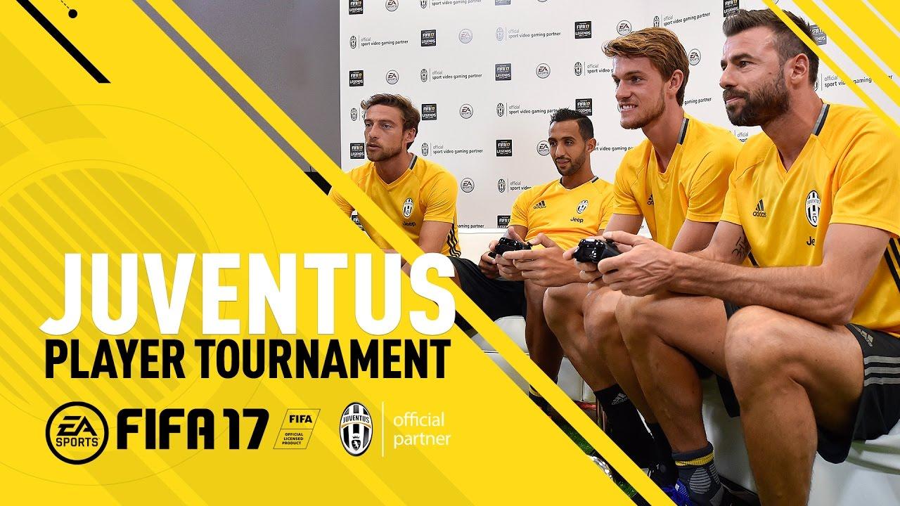 FIFA 17 - Juventus Player Tournament - ft. Barzagli, Benatia, Marchisio, Rugani