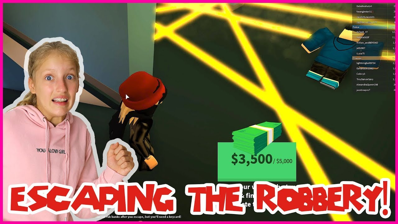 Escaping The Robbery At The Jewelry Store Youtube