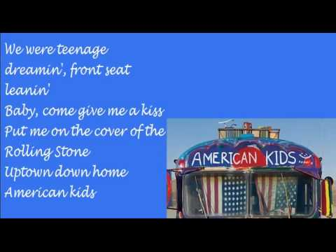 American Kids Kenny Chesney Lyrics YouTube