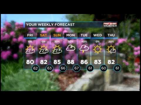 Charlotte Observer's Weather Forecast 05.15.15