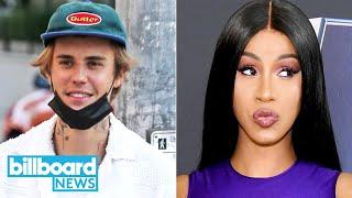 Justin Bieber Teases 'Journals' TikTok Concert, Cardi B Goes Makeup-Free & More | Bill