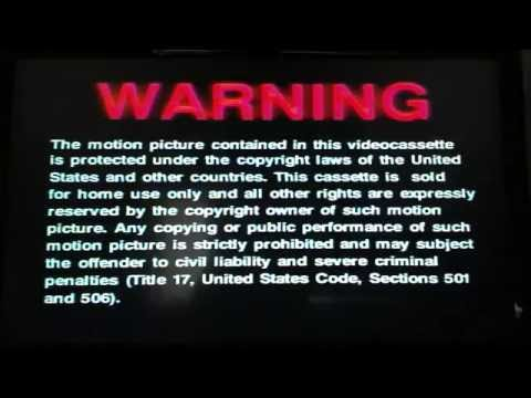 Opening To Jurassic Park III 2001 VHS (Part 3)