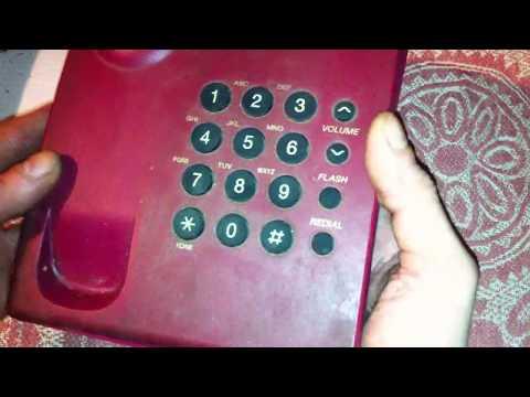 Разбор домашнего телефона PANASONIC