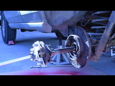 How to Change Rear Axle Seals and Bearings on a Jeep Grand Cherokee WJ  YouTube