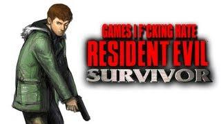 Games I F*cking Hate - Resident Evil: Survivor (PS1)