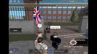 ROBLOX - A day in London (1941's) - Officer