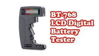 Тестер батареек BT 768 LCD Digital Battery Tester from GearBest. За такие деньги #176