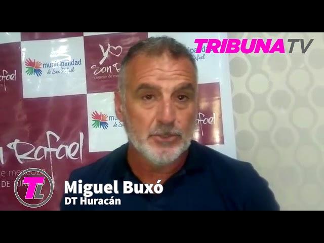Miguel Buxó (DT Huracán)