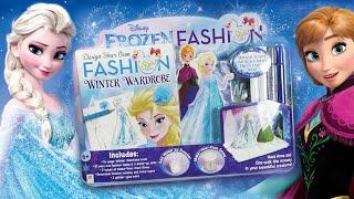 Disney Frozen Fashion wardrobe Queen Elsa Princess Anna toy paper dolls