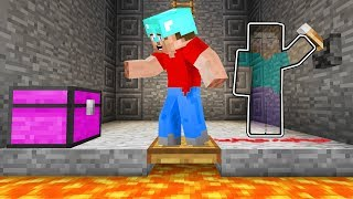 Using INVISIBILITY To TROLL In MINECRAFT! (funny)
