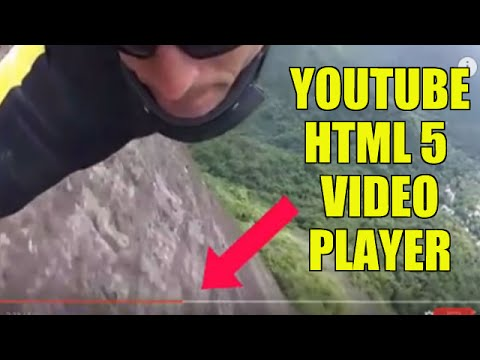 YouTube HTML5 Video Player Replaces Old Flash Player