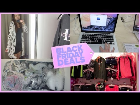 BLACK FRIDAY VLOG! {Sales, Chocolate, and Galaxy Bath!}
