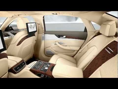 New Audi A8 L W12 Quattro 2011 Interior Detail Tv Ad Audi A8l