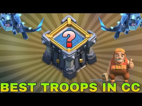 BEST TROOPS IN CLAN CASTLE 2019 ! CLASH OF CLANS - COC