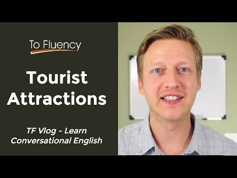 English Listening Practice #2: Tourist Attractions (Travel English Phrases)