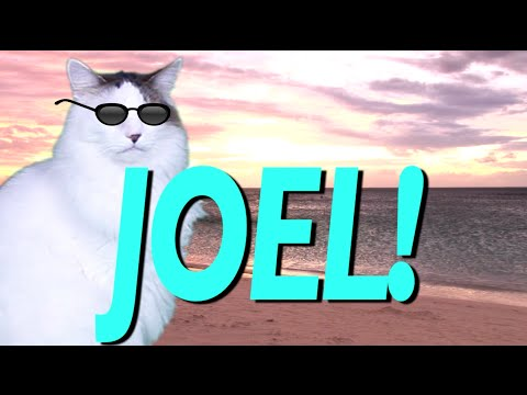 Happy Birthday Joel Epic Cat Happy Birthday Song Youtube