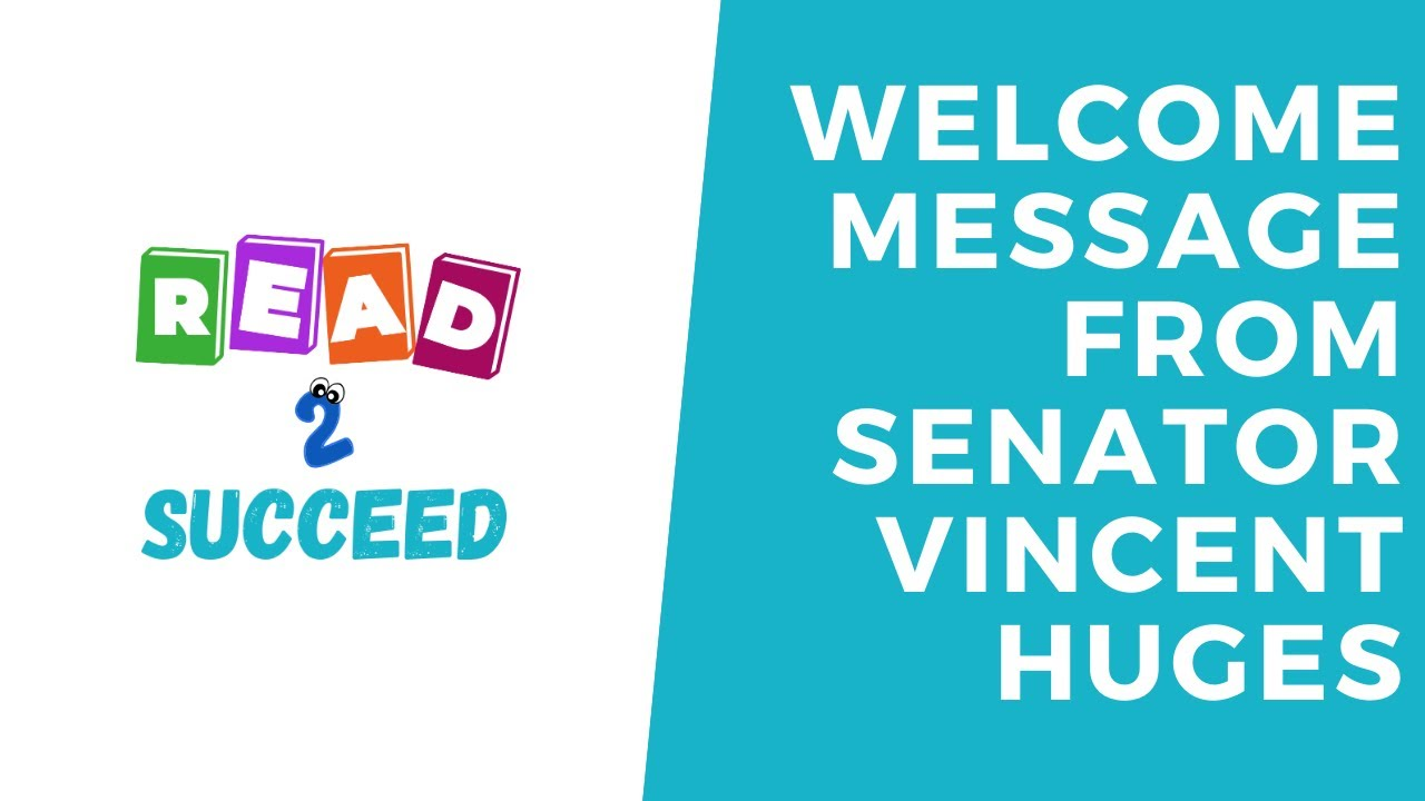 Welcome Message from Senator Vincent Hughes, Founder and Sponsor