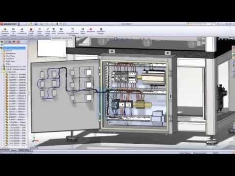 Introducci n a dise o electrico 3d con solidworks youtube for Programa diseno 3d