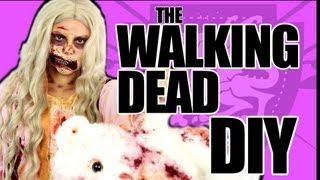 Walking Dead Zombie Girl Costume Tutorial