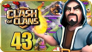 Let's Play CLASH of CLANS Part 43: Willkommen, Magier & Blitzzauber!