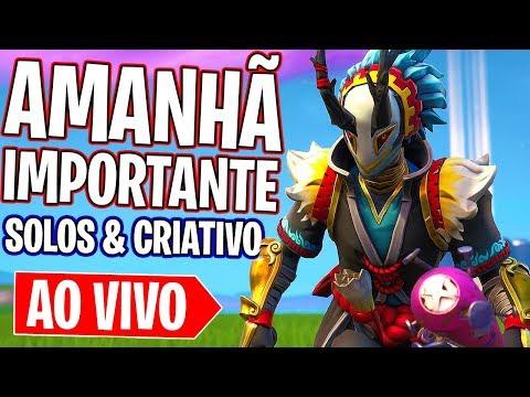 Fortnite - AMANHÃ É O DIA ...!!