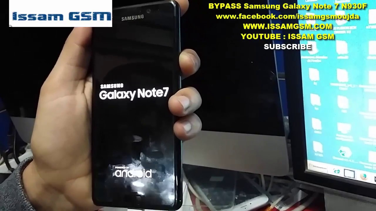 Galaxy Note7 N930F , G532F , REMOVE FRP Android 7 0 Nougat