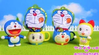 ドラえもんのバスボムでのび太くんとお風呂に入るよ♪ Doraemon Toy Bath...