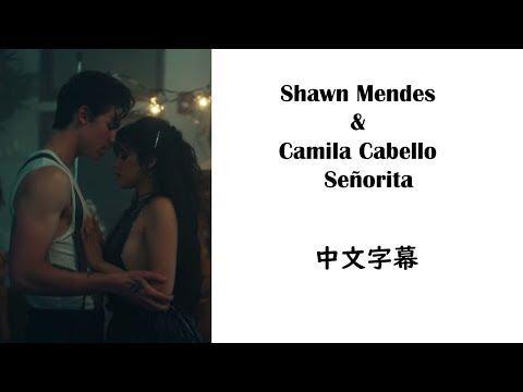 Shawn Mendes & Camila Cabello  Señorita  中文字幕