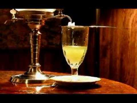 An absinthe drink proper preparation youtube for Cocktail preparation