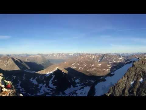 Hamperokken 1404m - Barefoot walk and run