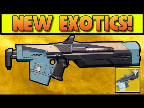 Destiny - JADE RABBIT EXOTIC SCOUT RIFLE GAMEPLAY - EXOTIC W