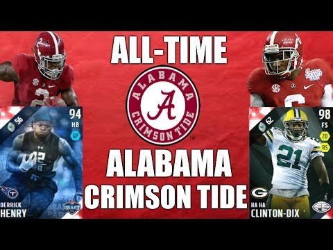 All-Time Alabama Crimson Tide Team - Derrick Henry and Ha-Ha Clinton Dix! - Madden 16 Ultimate Team