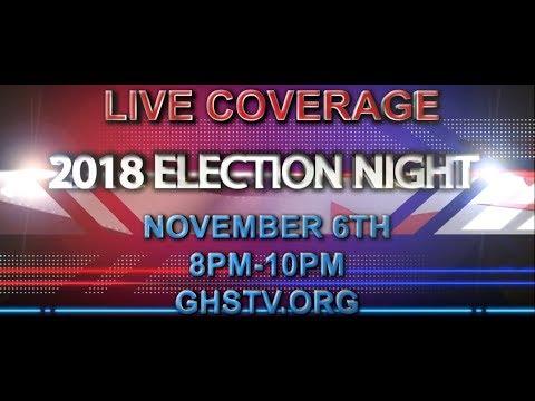 Election Night 2018 - November 6, 2018