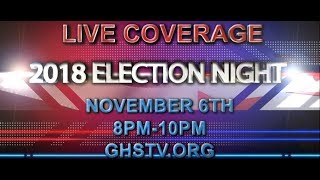Election Night 2018 - November 6, 2018