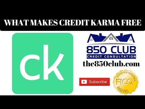 Is Credit Karma Really Free? If So, What Makes It Free? - 850 Club Credit Consultation