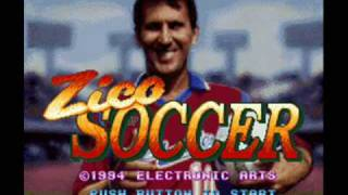 Zico Soccer Super Famicom Title Music