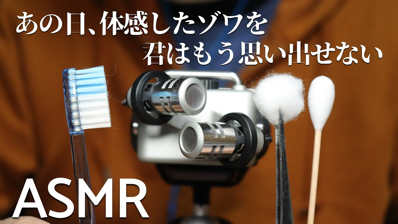 ASMR ゾワゾワしたことがない人のための耳かき Ear Cleaning for People Who NEVER Had Tingles (No Talking)