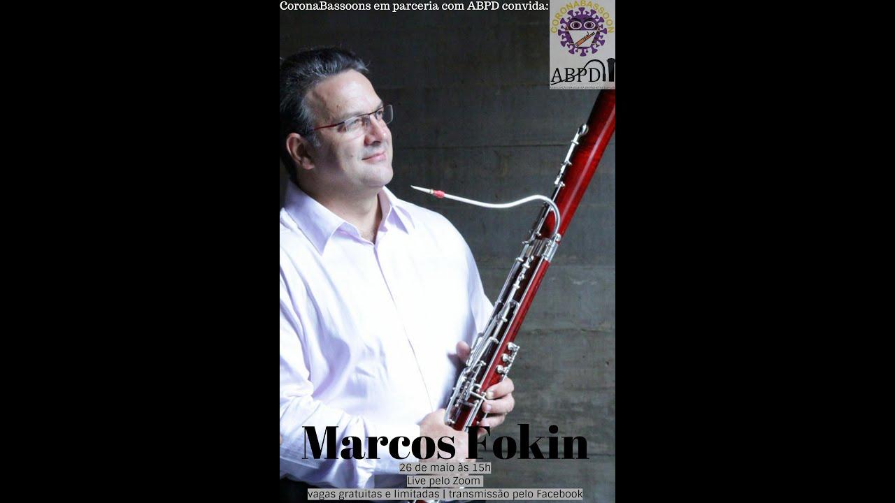 Live com o professor Marcos Fokin