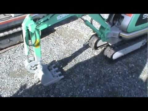 kobelco ss1 micro excavator youtube rh youtube com