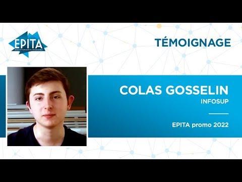 Colas Gosselin - Futur ingénieur de l'EPITA - promo 2022