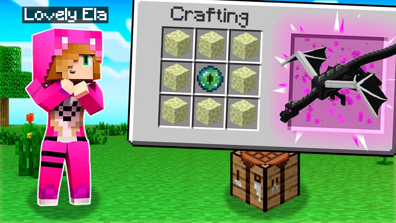 Minecraft pero PODEMOS CRAFTEAR CUALQUIER MOB 😱