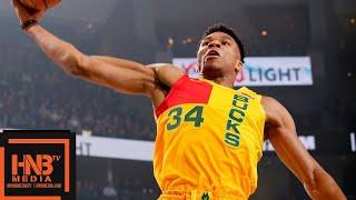 Milwaukee Bucks vs Utah Jazz Full Game Highlights | 01/07/2019 NBA Season