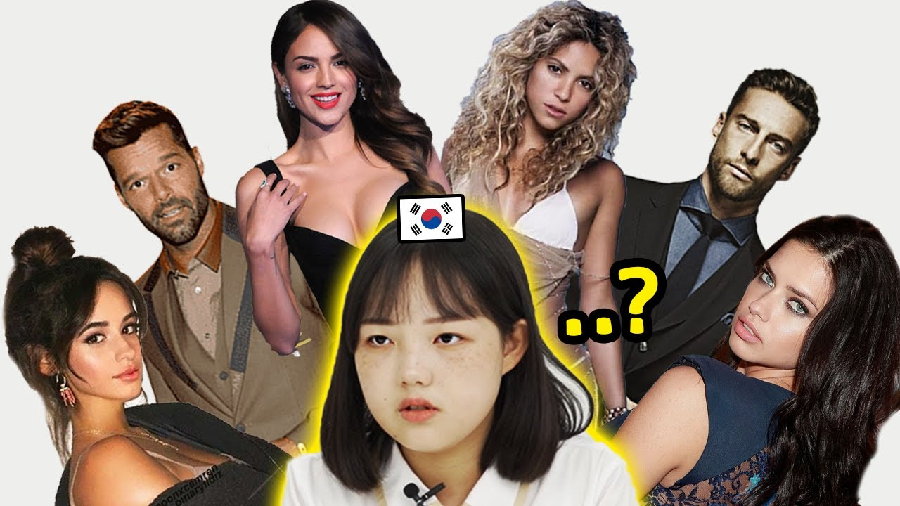 Korean Teens Guess the Nationality of Celebrities from Latin America!!